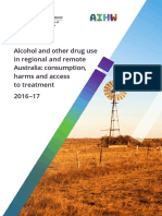 Alcohol and Other Drug Use in Regional and Rural Communities
