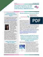 WHO GAP AMR Newsletter No 32 Nov 2017