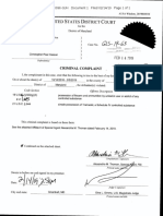 Christopher Hasson Criminal Complaint