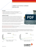 Infosheet Highly Effective Norit Activated Carbon for Sediment Remediation