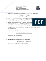 Examen de probabilidad