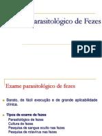3. Exame Parasitológico de Fezes