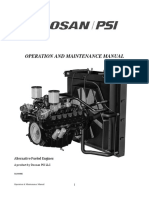 DOOSAN PSI Operations and Mantainance Manual 56100000-E [316596]