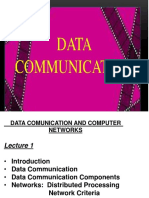 Data Comm Lecture -1