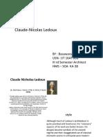 Theory of Architecture -II (IIIRD SEM)