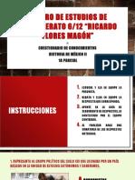Examen Historia de México 1a Parcial