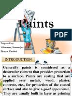 Paints Group 7