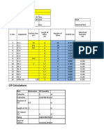 Calculations for Heat Exchanger,CIP & ATFD (Master Copy)