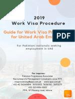 Work Visa Procedure for UAE - 2019. by PPA