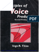 Dianostico y Tratamiento de Trast Voz