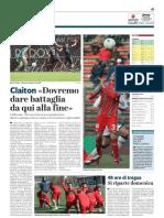 La Provincia Di Cremona 21-03-2019 - Claiton