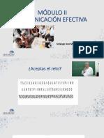 UAPMódulo II - Comunicación Efectiva - PPT.pdf