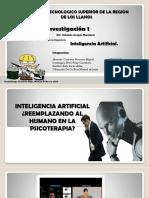Inteligencia Artificial ¿Reemplazando Al Humano en La
