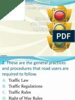 Traffic Ppt