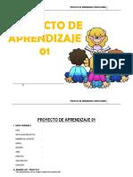 Proyecto de Aprendizaje 3º - 2015