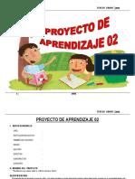 PROYECTO DE APRENDIZAJE 3º