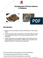 Potential Development of Prawn Industry in Malaysia