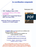 CFT and Chelate Effect-i