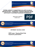 Strategic Planning for the Regional Peace and Order Council Program