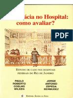 _A Farmácia no Hospital   Como Avaliar (Livro)