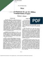 1994-WBS development for an $11 billion transportation project
