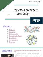 Mujeres en La Ciencia y La Tecnologia