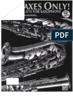 Greg Yasinitsky - For Saxes Only - Jazz Duets for Saxophone (Bb,Eb).pdf