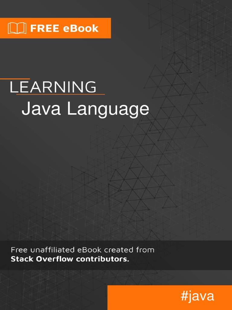 0882-learning-java-language pdf | Method (Computer