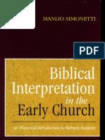 Simonetti, M., Biblical Interpretation.pdf