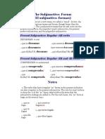 The Subjunctive.docx