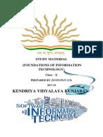 Information Technology Class x Study Material