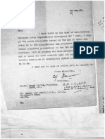 Rare Document About organizing of Punjab Unionist Party
