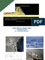 Hot Topics on the Lakes,Val Klump, PhD, 9/2010