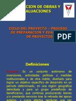 Ciclo Del Proyecto y Preparacion y Evaluacion de Proyectos