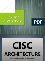 Cisc & Risc Architecture