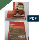 Tyson Chicken Strip Recall (Labels)