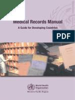 MedicalRecordsManual WHO