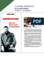 Mort Du Colonel Amirouche