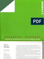 06 | Proyectar Aranjuez | - | - | Spain | Ediciones Doce Calles | Article