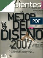 07 | Ambientes | lo mejor del Diseño 2007 | - | Mexico | - | Interview
