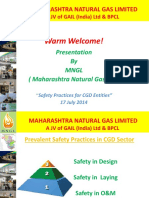 Safety Practices for CGD Entities