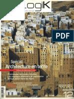 09 | Ecologik | Spécial Architecture en terre | 12 | France | Architectures à vivre | Parkeing | pg. 12
