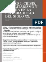 002 - Unidad 1 - Crisis, Totalitariso y Guerra en La Primera Mitad Del Siglo XX.