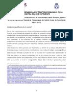 MOCIÓN para la creación de una tasa y del sello para rodajes Green Films (marzo 2019, Comisión Sostenibilidad)