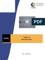 Arco Electrico,Parte Fisica,Corriente y Polaridad en Procesos de Soldadura . (1)