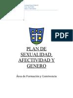 Plan Sexualidad Afectividad y Genero