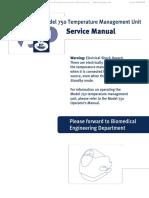 manual de servicio de 750