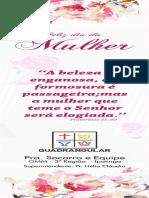 SAIDA - Marcador de Pagina - 3a Regiao MULHERES