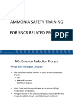 ammonia safety training