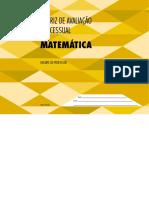 Matriz Processual Matemática EFII EM